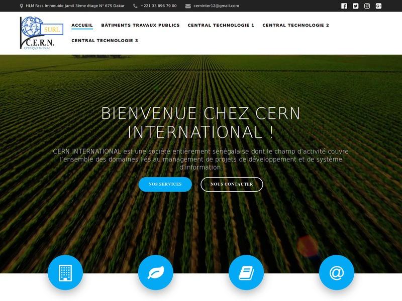 CERN INTERNATIONAL